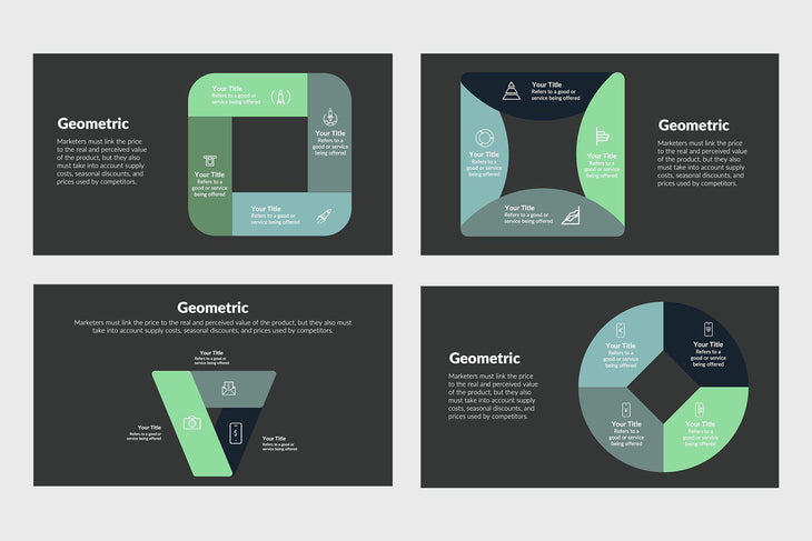 Geometric Infographics Template-PowerPoint Template, Keynote Template, Google Slides Template PPT Infographics -Slidequest