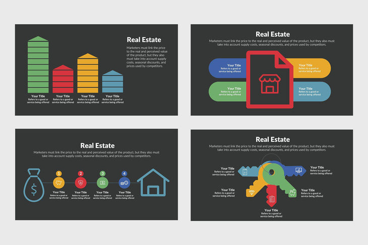 Real Estate Diagrams for PowerPoint