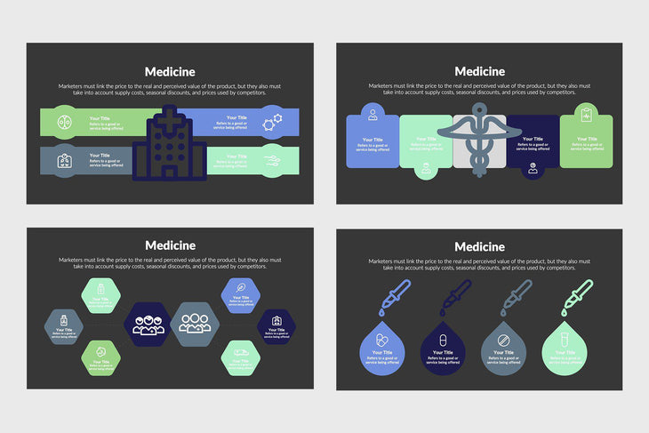 Medicine Diagrams-PowerPoint Template, Keynote Template, Google Slides Template PPT Infographics -Slidequest