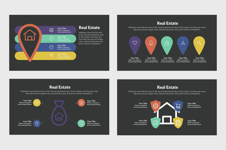 Real Estate Infographics for PowerPoint