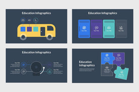 Education Infographics Template - TheSlideQuest