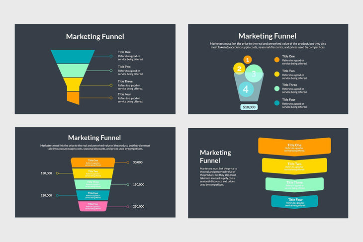 Marketing Funnel Chart Template - TheSlideQuest
