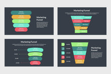 Load image into Gallery viewer, Marketing Funnel Diagram - TheSlideQuest