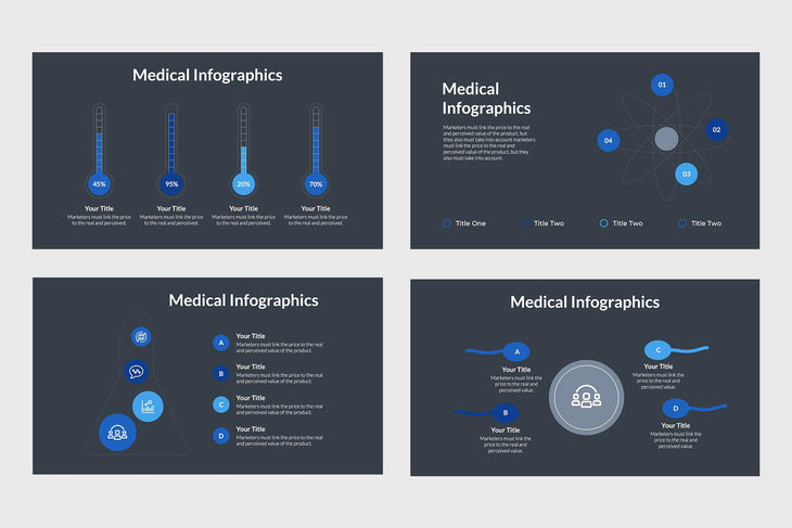 Medical Field Infographics-PowerPoint Template, Keynote Template, Google Slides Template PPT Infographics -Slidequest