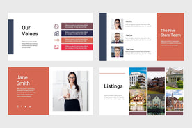 Deluxe Real Estate Keynote Template-PowerPoint Template, Keynote Template, Google Slides Template PPT Infographics -Slidequest