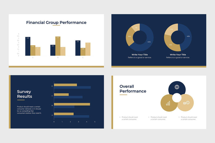 Fast Growth Finance PowerPoint Template