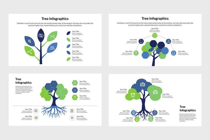 Tree Vector Infographics Template