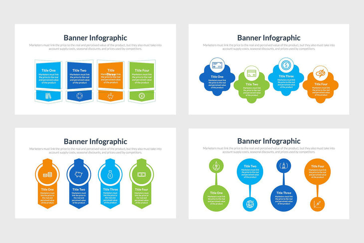 Banner Infographics Vectors and Presentations-PowerPoint Template, Keynote Template, Google Slides Template PPT Infographics -Slidequest