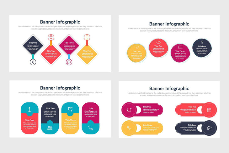 Banner Diagrams for Presentations