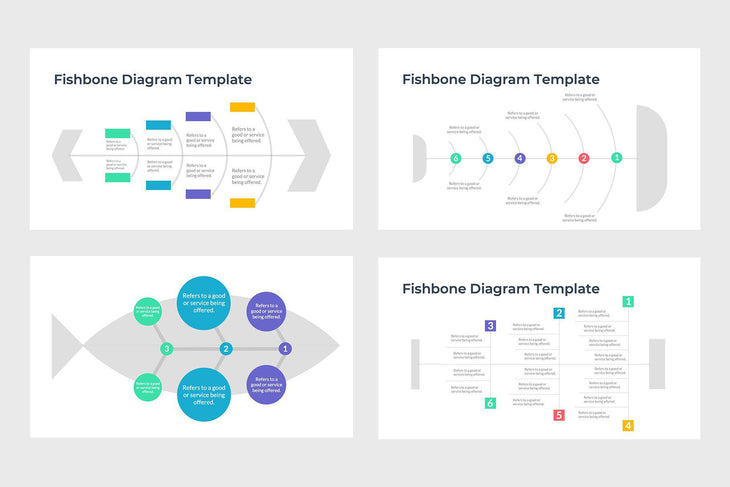 Cause and Effect Fishbone Diagram Template - TheSlideQuest