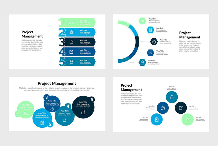 Project Management Infographics Template