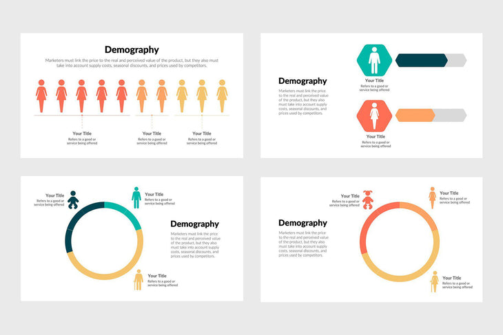 Demography Diagrams-PowerPoint Template, Keynote Template, Google Slides Template PPT Infographics -Slidequest