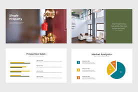 Branch Homes Real Estate PowerPoint Template