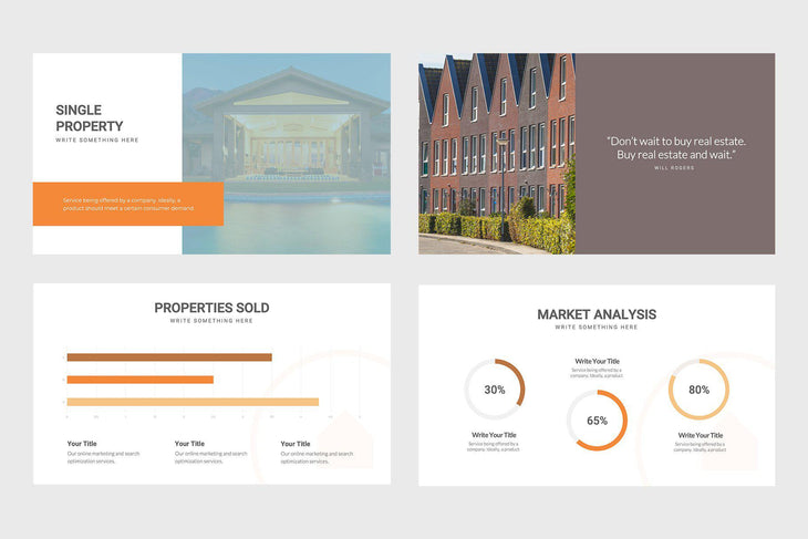 Brook Co Real Estate PowerPoint Template