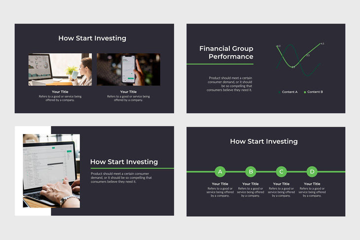 Explans Finance PowerPoint Template