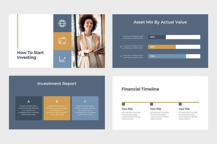 North Capital Finance PowerPoint Template