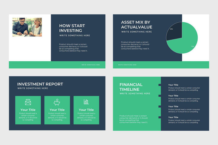 Partners Fund Finance PowerPoint Template