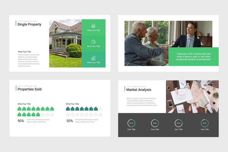 Sequoia Homes Real Estate PowerPoint Template