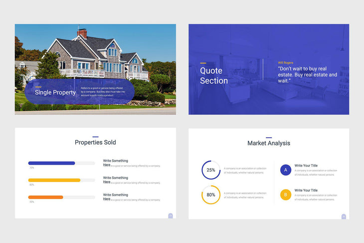 Smart Property Real Estate PowerPoint Template