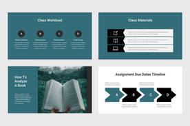 Think Education Google Slides-PowerPoint Template, Keynote Template, Google Slides Template PPT Infographics -Slidequest