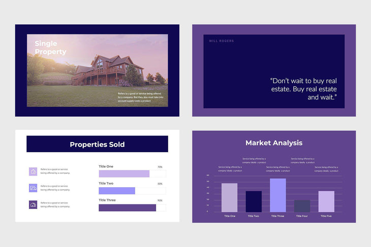 Brilliant Homes Real Estate Keynote Template-PowerPoint Template, Keynote Template, Google Slides Template PPT Infographics -Slidequest