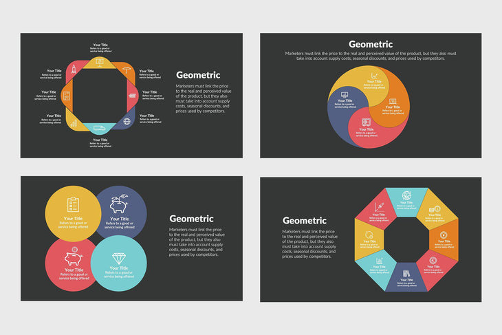 Geometric for Education-PowerPoint Template, Keynote Template, Google Slides Template PPT Infographics -Slidequest
