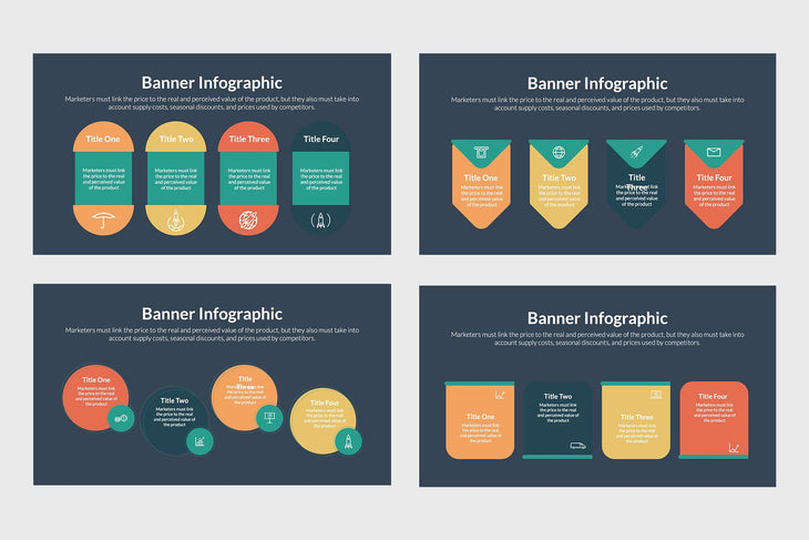 Banner Vector Infographics-PowerPoint Template, Keynote Template, Google Slides Template PPT Infographics -Slidequest