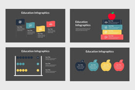Infographics for Teachers-PowerPoint Template, Keynote Template, Google Slides Template PPT Infographics -Slidequest