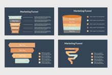Load image into Gallery viewer, Marketing Funnel Chart - TheSlideQuest