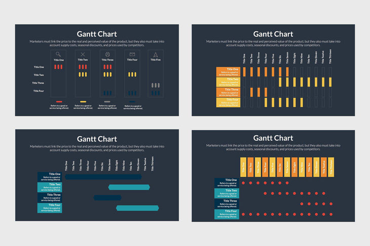 Gantt Chart Diagrams - TheSlideQuest