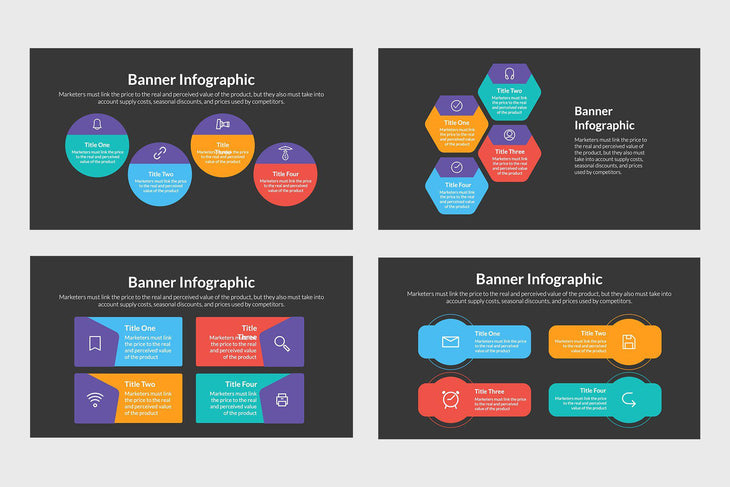 Business Banner Infographics
