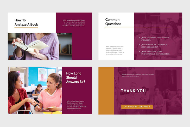 Mind Education PowerPoint Template