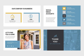Paramount Real Estate Keynote Template-PowerPoint Template, Keynote Template, Google Slides Template PPT Infographics -Slidequest