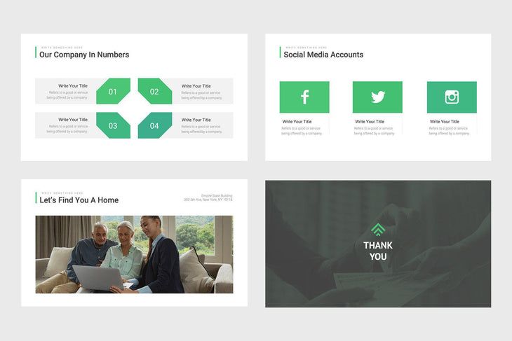 Sequoia Homes Real Estate Keynote Template