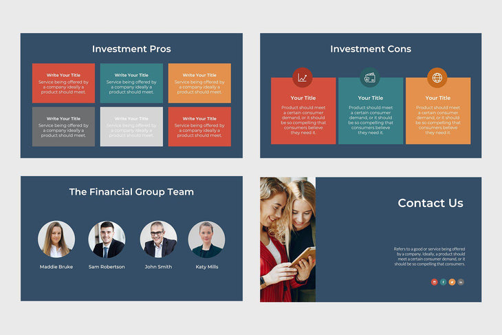 Financial Corp Finance Google Slides-PowerPoint Template, Keynote Template, Google Slides Template PPT Infographics -Slidequest