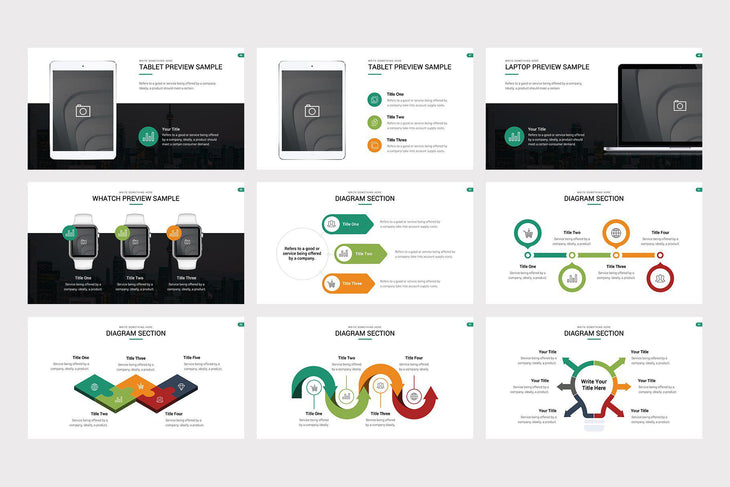Highland Marketing Pitch Deck PowerPoint Template - TheSlideQuest