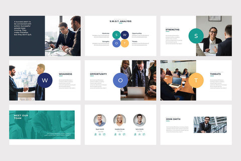 Trend Business PowerPoint Template