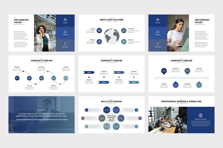 Walden PowerPoint Template