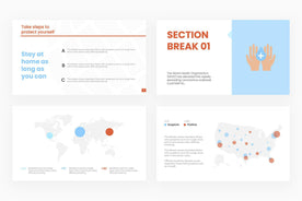 How It Spreads Presentation Template-PowerPoint Template, Keynote Template, Google Slides Template PPT Infographics -Slidequest