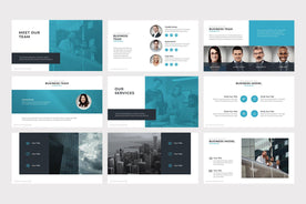 Porto Business PowerPoint Template