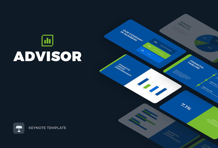 Advisor Finance Keynote Template