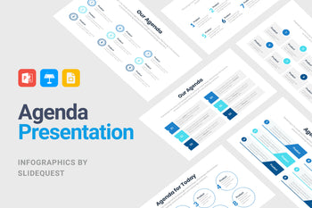 Agenda-PowerPoint Template, Keynote Template, Google Slides Template PPT Infographics -Slidequest