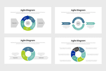 Agile Diagram Infographics Template