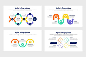 Agile Infographics Template PowerPoint Keynote Google Slides PPT KEY GS