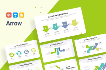 Arrow Infographics-PowerPoint Template, Keynote Template, Google Slides Template PPT Infographics -Slidequest