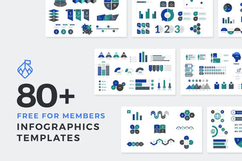 Infographic Templates Free For Members-PowerPoint Template, Keynote Template, Google Slides Template PPT Infographics -Slidequest