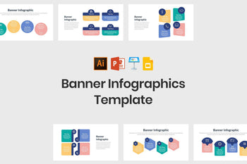 Banner Infographics Template-PowerPoint Template, Keynote Template, Google Slides Template PPT Infographics -Slidequest