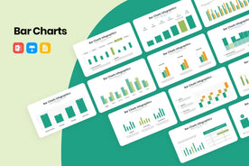 Bar Charts Infographics PowerPoint Template-PowerPoint Template, Keynote Template, Google Slides Template PPT Infographics -Slidequest