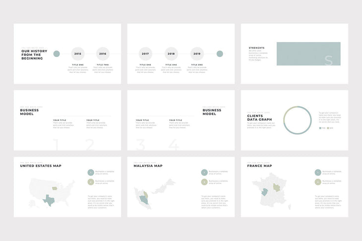 Grace Minimal PowerPoint Template - TheSlideQuest