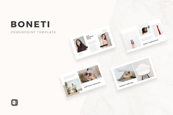 Boneti Minimalist PowerPoint Template-PowerPoint Template, Keynote Template, Google Slides Template PPT Infographics -Slidequest